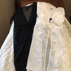 Catalina swimwear front tie coverup/ tunics